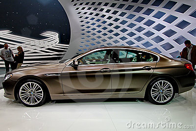 A bmw 6er gran coupe car Editorial Image
