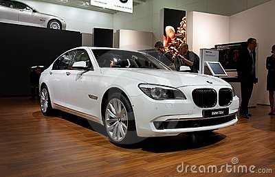 BMW 7-series Editorial Photography