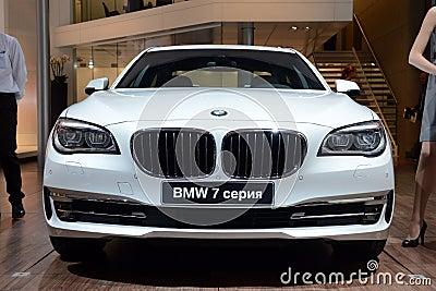 BMW 7 series - world premiere Editorial Stock Photo