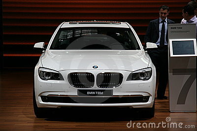 BMW 730d Editorial Photography