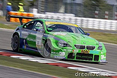 BMW Alpina B6 GT3(ADAC GT Masters) Editorial Photography