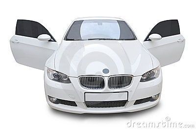 BMW Car 335i Convertible - Doors Open Royalty Free Stock Photo ...