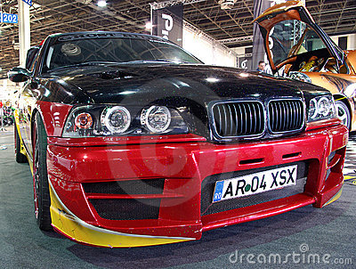 BMW car front Editorial Stock Image