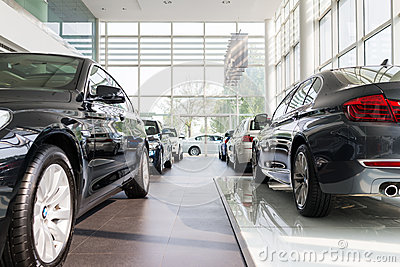 BMW cars for sale Editorial Photo
