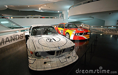 BMW classic sport cars Editorial Image