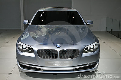 BMW Concept 5 Series Active Hybrid Editorial Image
