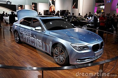 BMW Concept 7 series ActiveHybrid Editorial Stock Photo