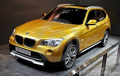 BMW Concept X1 Editorial Photography