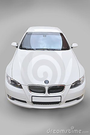 BMW convertible car front