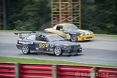 BMW E36 race car Editorial Photo