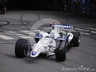 BMW Formula 1 Editorial Photography