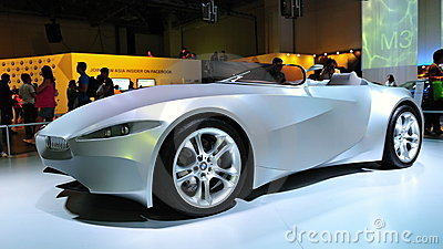 BMW GINA Light Visionary Concept car Editorial Stock Image