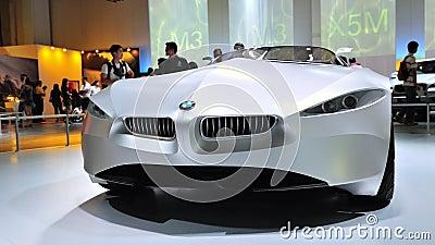 BMW GINA Light Visionary Concept car Editorial Stock Image