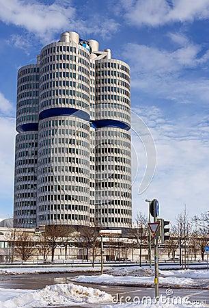 BMW Headquarters, Munich, Germany Editorial Stock Photo
