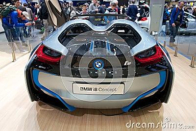 BMW i8 concept car Editorial Photo