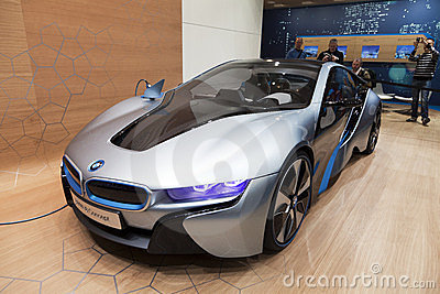 BMW i8 concept car Editorial Photography