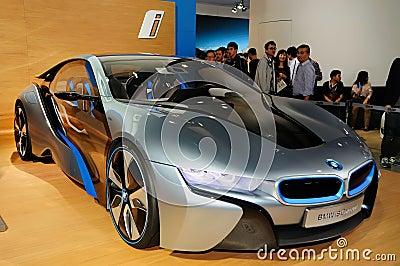BMW i8 concept car Editorial Image
