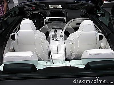 BMW interior design Editorial Photo