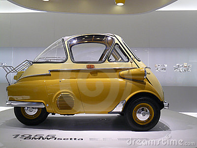 BMW Isetta Editorial Stock Photo