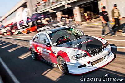 BMW M3 drift car