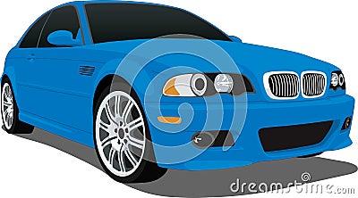 Bmw M3 Blue