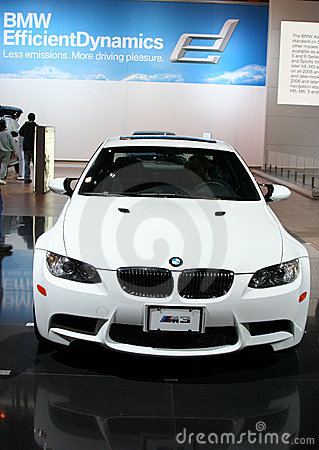 The BMW M3 Coupe Editorial Photography