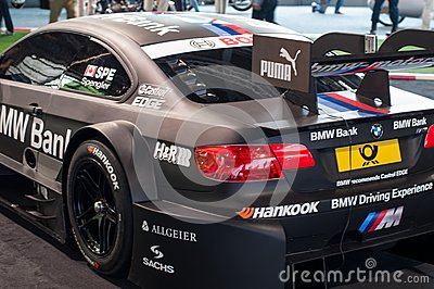 BMW M3 DTM 2012 car Editorial Photo