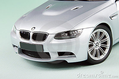 BMW M3 front side.