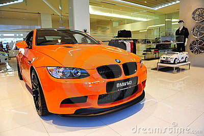 BMW M3 GTS coupe Editorial Photography
