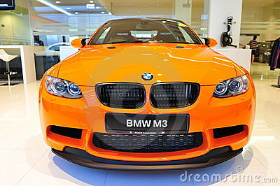 BMW M3 GTS coupe Editorial Stock Image