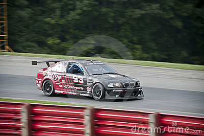 BMW M3 race car Editorial Stock Photo