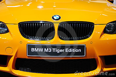Bmw m3 tiger edition front Editorial Photo