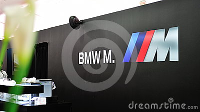 BMW M6 Convertible Preview in Singapore Editorial Image