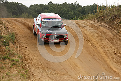 BMW Rallye Car Editorial Photo