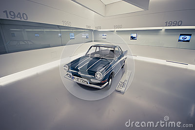 BMW Retro Car Editorial Photography