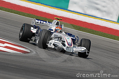 BMW Sauber F1 Team Robert Kubi Editorial Image