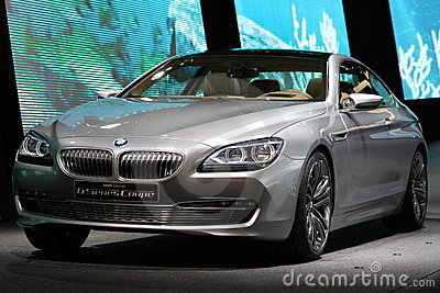 BMW Serie 6 Coupe Concept Editorial Photo