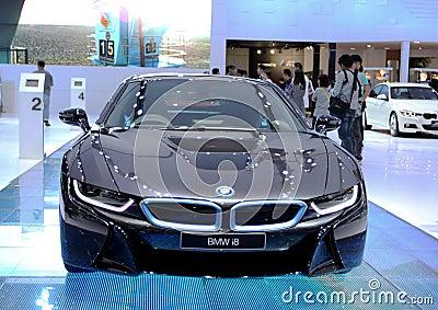 BMW series I8 innovation car