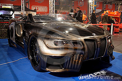 BMW Sinister 6 concept Editorial Stock Photo