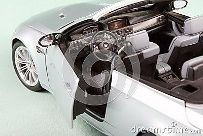 BMW sport car close-up.