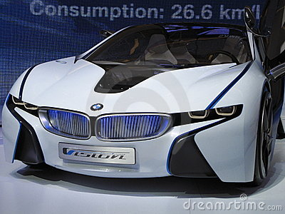 BMW Vision Efficient Dynamics Concept Car Editorial Image