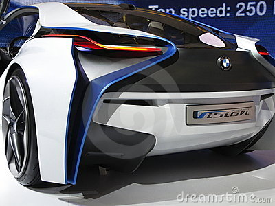 BMW Vision Efficient Dynamics Concept Car Editorial Stock Photo