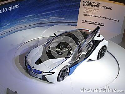 BMW Vision Efficient Dynamics Concept Car Editorial Photography