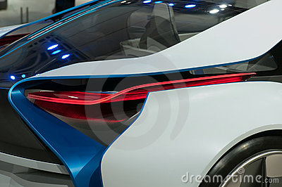 BMW Vision EfficientDynamics Concept car, detail Editorial Stock Photo