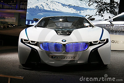 BMW Vision EfficientDynamics at Paris Motor Show Editorial Image
