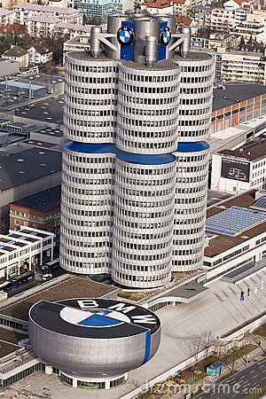 BMW Welt Editorial Image