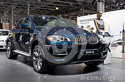 BMW X6 Editorial Stock Image