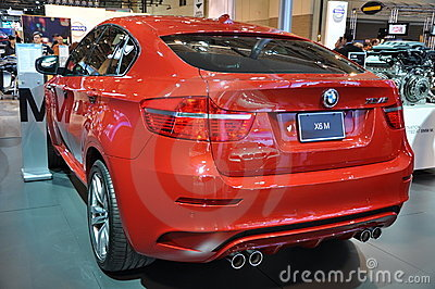 BMW X6 SUV Editorial Stock Photo