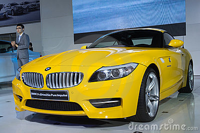 BMW Z4 car Editorial Photography