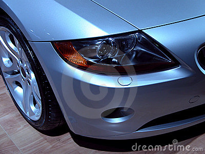 BMW Z4 headlight